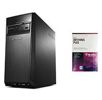 Lenovo H50-50-KIT3 with McAfee Antivirus, Intel Core i7-4790, 8GB Memory, 1TB Hard Drive
