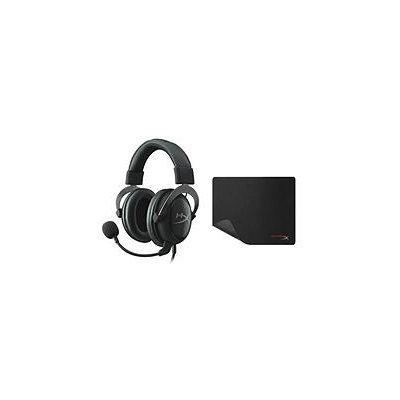 HyperX Cloud II Headset and Mouse Pad, Gun Metal