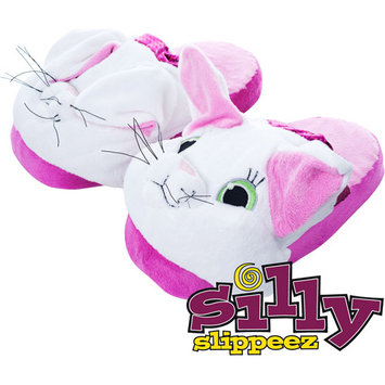 Trademark Games Silly Slippeez - Princess Kitty - Glow in the Dark - Large