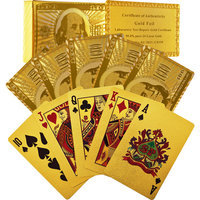 Trademark Poker? 24k Gold Playing Cards