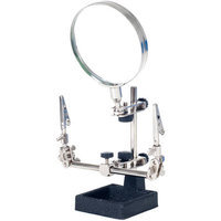 Trademark Global Games Stalwart 2x Helping Hand 3.5-inch Magnifier with Stand