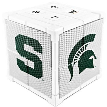 Wiseways WKL022 Kube Bluetooth Collegiate Speaker - Michigan State School