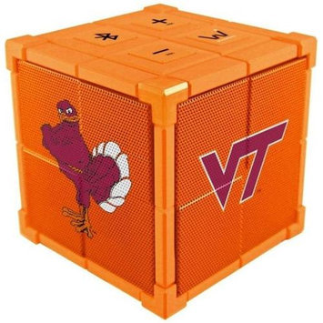 Wiseways WKL045 Kube Bluetooth Collegiate Speaker - Virginia Tech School
