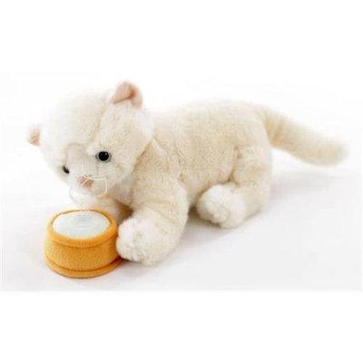 Teeboo 91210B-WHC Cat - Persian White Plush Toy