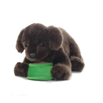 Teeboo 91210B-CHD Dog - Chocolate Lab Plush Toy