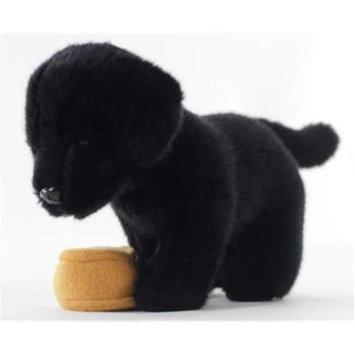 Teeboo 91210B-BLD Dog - Black Lab Plush Toy