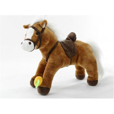 Teeboo 91203-HBR Galoo - Pony Brown Plush Toy