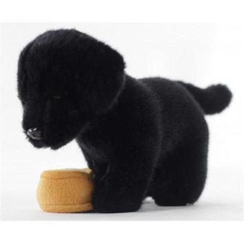 Teeboo 91220B-BLD Puppy - Black Lab Plush Toy