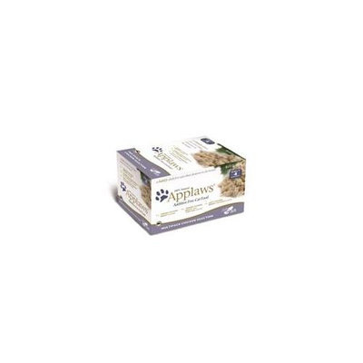 Mpm Products Usa- Applaws Pet AW00084 Cat Multi Pack Pot Chicken Selection - 2.12 Oz. Case 32