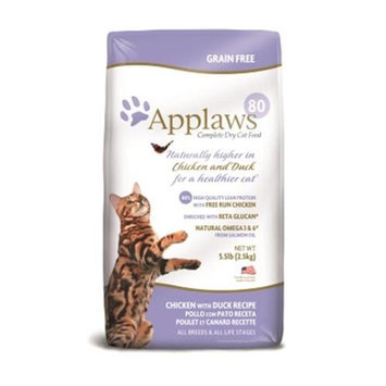 Mpm Products Usa- Applaws Pet AW00098 Chicken & Duck Dry Cat - 5.5 lbs.
