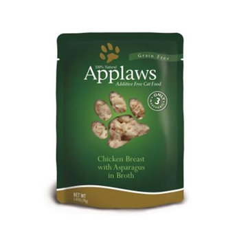 Mpm Products Usa- Applaws Pet AW00114 Chicken & Asparagus - 2.47 Oz. Case 12