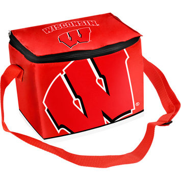 Wisconsin Badgers Official NCAA Insulated Lunch Box Lunchbox Bag by Forever Collectibles