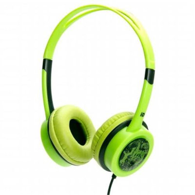 iDance FREE10 Headphones - Green With Black Trim