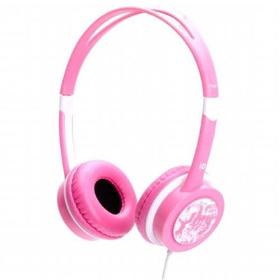 iDance FREE40 Headphones - Pink With White Trim