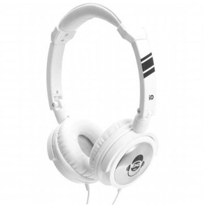 Idance JOCKEY300 White Stereo Dj Headphones Mic Ip
