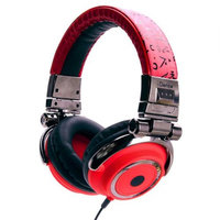 iDance DISCO400 Headphones - Red, Black And Silver