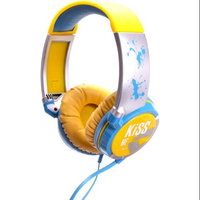 IDANCE KM300 KiSS ME Headphones with Software Voucher Yellow/Blue