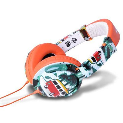 IDANCE IBIZA106 Ibiza Headphones - Orange