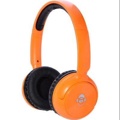 IDANCE BLUE100OR Bluetooth Headphones With Mic - Orange