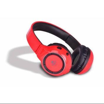 IDANCE BLUE300R Bluetooth Headphones With Mic - Red