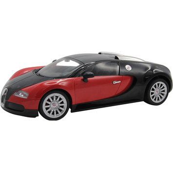 Kidz Tech 1:12 Scale Rechargeable Red Bugatti Veyron Remote Control Car