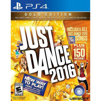 Ubisoft Just Dance 2016 Gold Edition for Sony PS4