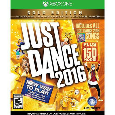 Ubisoft Just Dance 2016 Gold Edition for Xbox One