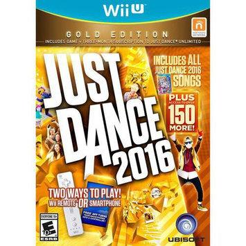 Ubisoft Just Dance 2016 Gold Edition for Nintendo WiiU