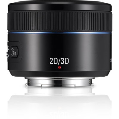 Overstock Samsung 45mm f/1.8 - 3.5 3D 3D Lens for Samsung NX
