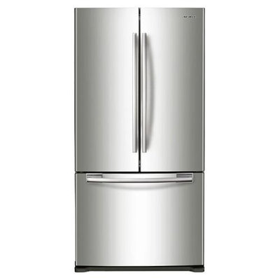Samsung - 19.4 Cu. Ft. French Door Refrigerator - Stainless-steel