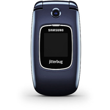 Jitterbug - Samsung Jitterbug5 No-contract Cell Phone - Blue