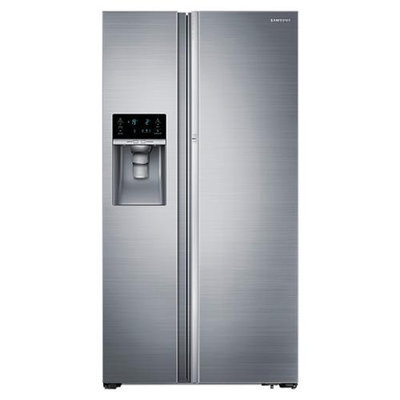 Samsung 22 cu. ft. Counter Depth Side-by-Side Food ShowCase Refrigerator - Stainless Steel