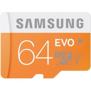 Samsung EVO MB-MP64DA MicroSDXC Memory Card with Adapter - Class 10 - 64GB Memory