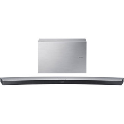 Samsung HW-J7501 320W 8.1 Channel Curved Soundbar Speaker System, Single, Silver