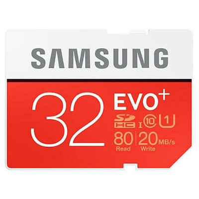 Samsung EVO+ 32GB Secure Digital High Capacity (SDHC)