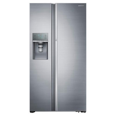 Samsung 28.5 Cu. Ft. Side-by-Side Refrigerator - Stainless Steel