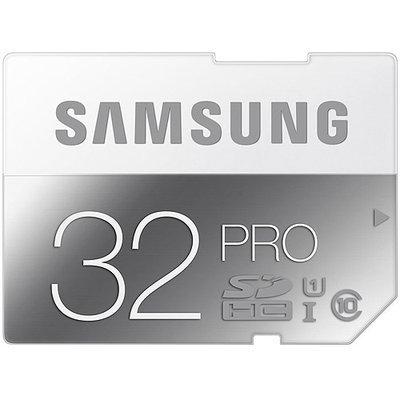 SAMSUNG 32GB Secure Digital High-Capacity (SDHC) Flash Card - Retail