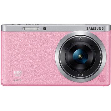 SAMSUNG NX Mini EV-NXF1ZZB1QUS Pink Smart Camera with 9mm Lens