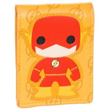 DC Comics The Flash Yellow Bioworld Funko Superhero Bifold Billfold Wallet