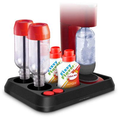 Mind Reader Soda Stream All in One Tray Bottle Dryer/Holder