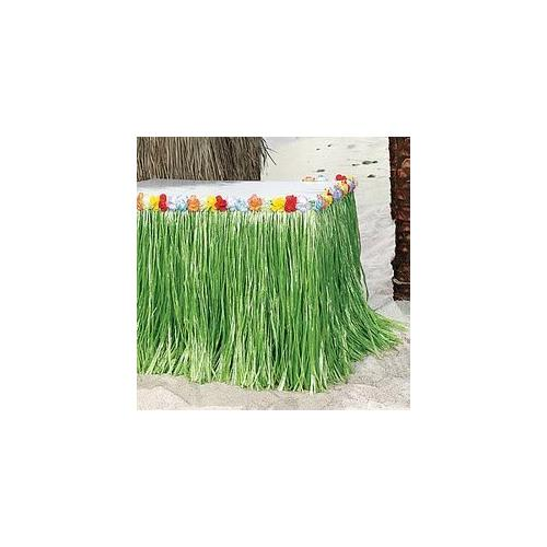 Fun Express Cool Fun 34-117-P Artificial Grass Table Skirts - 3PBH & Un