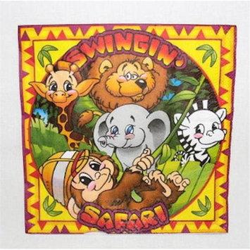 Ddi Bulk Buys Swingin Safari Luncheon Napkins - Case of 14