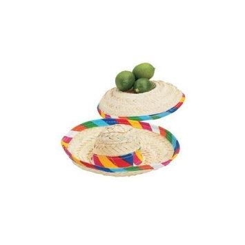 Fun Express Mini Tabletop Sombreros - Party Decorations & Centerpieces