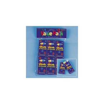 Cool Fun 85-2220V 4-Pc Boxed Chalk 1Dz Per Bag