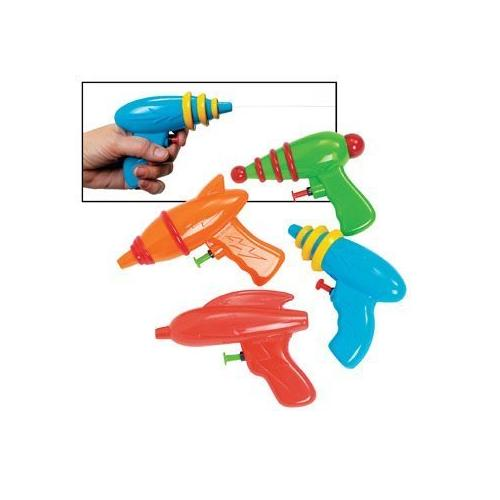 Fun Express Space Squirt Guns - Games & Activities & Outdoor Toys