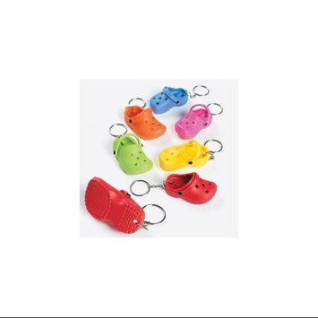 Fun Express Slipper Key Chains - Party Favors & Key Chains