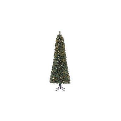 7 ft Pomona Color Changing Pre-lit Pencil Tree