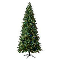 7.5 Ft Virginia Pine Color-Changing Pre-lit Quick Set Tree
