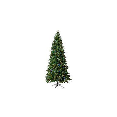 9 ft Virginia Pine Color Changing Pre-lit Quick Set Tree