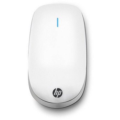Hewlett Packard Hp - Z6000 Wireless Bluetooth Mouse - White/chrome